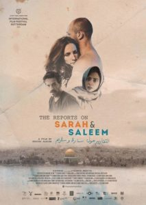 "Poster for the movie ""Sarah & Saleem"""