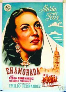 "Poster for the movie ""Enamorada"""