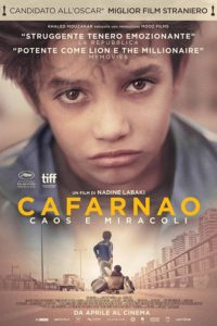 "Poster for the movie ""Cafarnao - Caos e miracoli"""