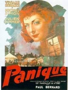 "Poster for the movie ""Panico"""