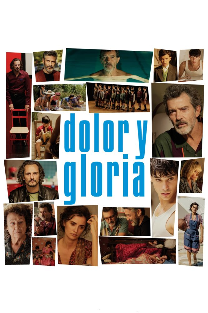 "Poster for the movie ""Dolor y gloria"""