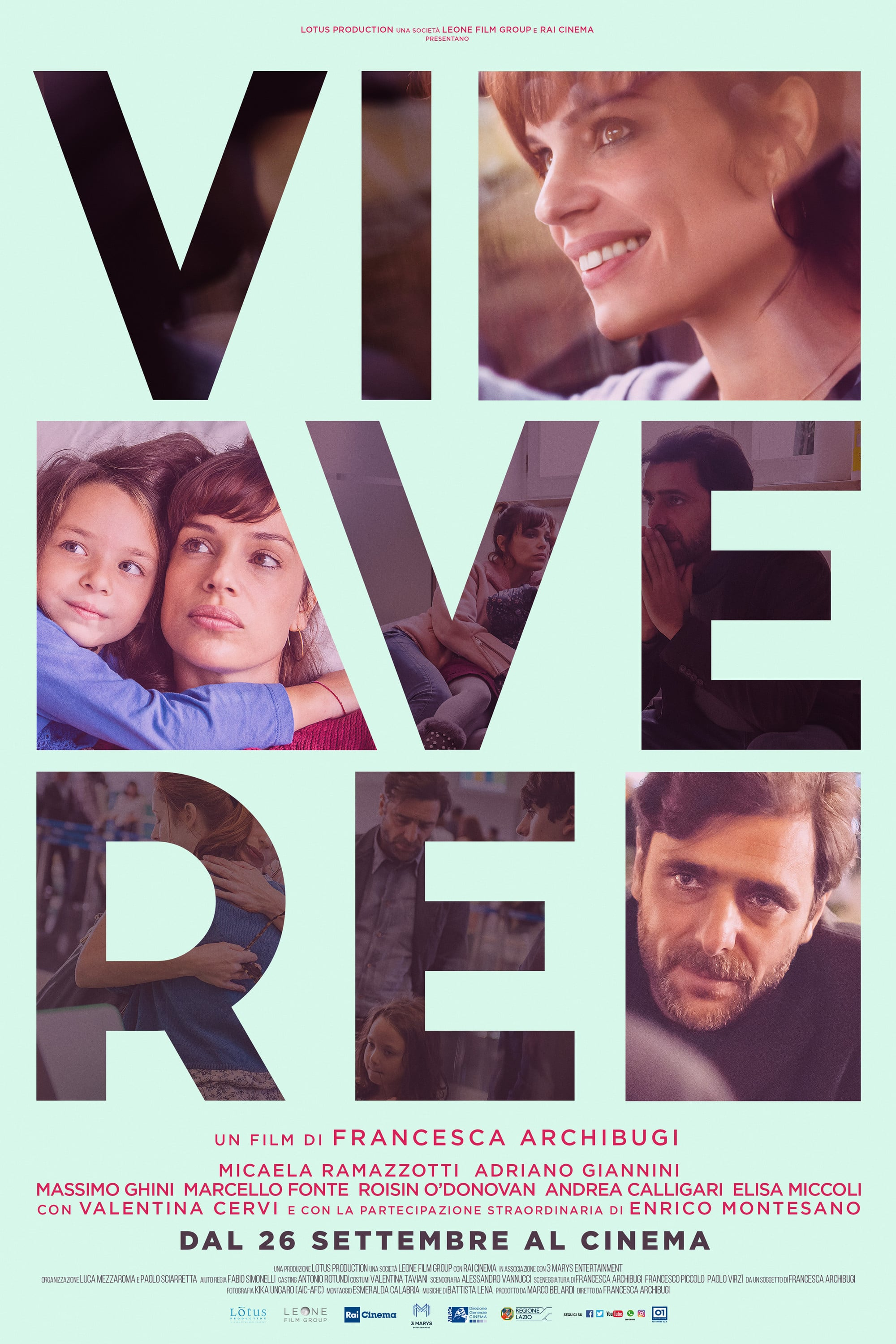 "Poster for the movie ""Vivere"""
