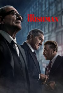 "Poster for the movie ""The Irishman"""
