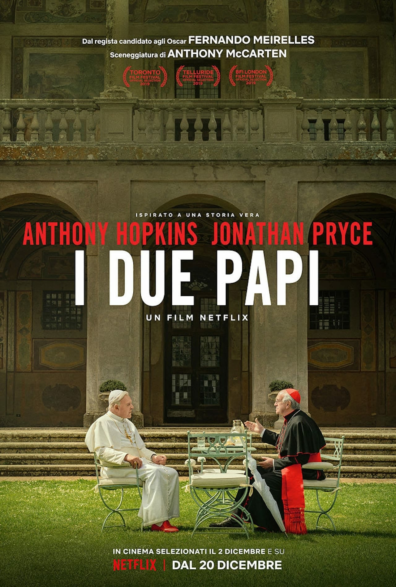 "Poster for the movie ""I due papi"""
