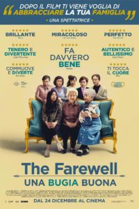 "Poster for the movie ""The Farewell - Una bugia buona"""