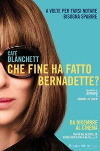 "Poster for the movie ""Che fine ha fatto Bernadette?"""