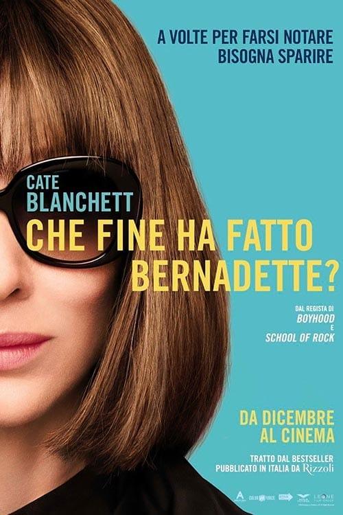 """Poster for the movie """"Che fine ha fatto Bernadette?"""""""