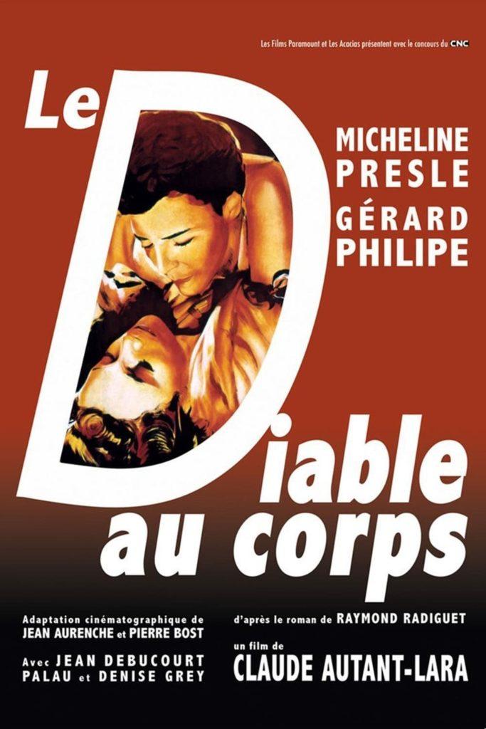 """Poster for the movie """"Il diavolo in corpo"""""""