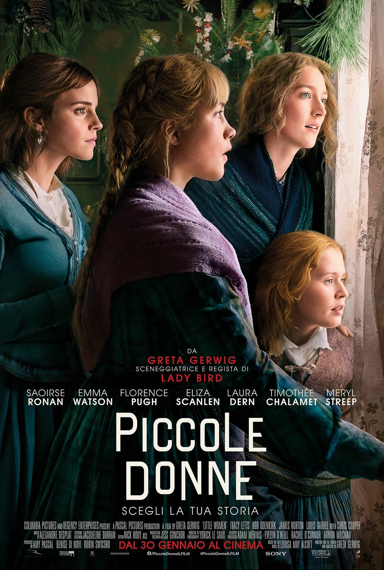 """Poster for the movie """"Piccole donne"""""""