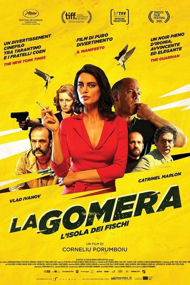 """Poster for the movie """"La Gomera - L'isola dei fischi"""""""