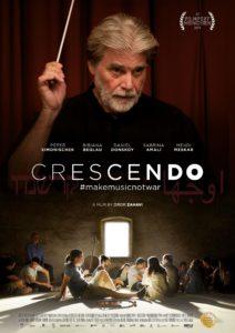 """Poster for the movie """"Crescendo - #makemusicnotwar"""""""