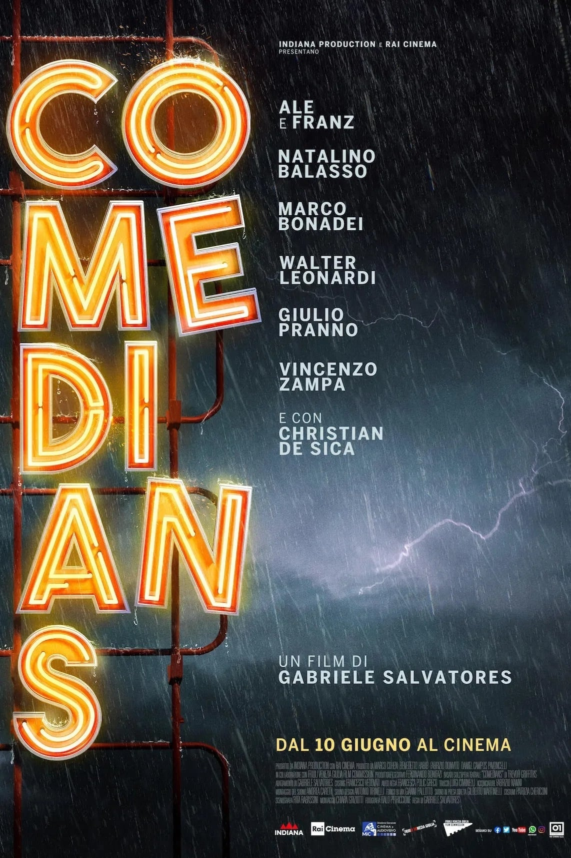 """Poster for the movie """"Comedians"""""""